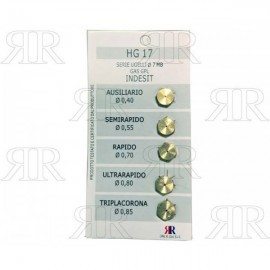 CONFEZIONE UGELLI 5 PZ 7MB GAS GPL - INDESIT
