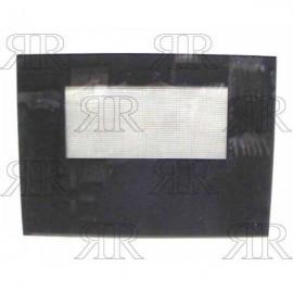 VETRO FORNO TIPO SAMET-SMEG-ONOFRI COLORE NERO 575 X 405 MM