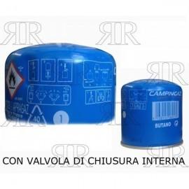 CARTUCCIA GAS DA 190 GR. CON VALVOLA DI RITEGNO